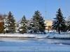 Gádoros - Téli főtér