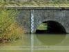 03. Szőlőskerti gyaloghíd – Felső zsilip- áteresz, Körgát